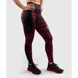 Defender Crop Leggings - Black/Red