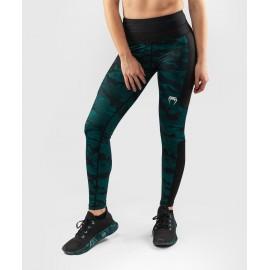 Defender Crop Leggings - Black/Green