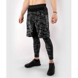 Defender Training Shorts - Dark Camo