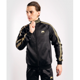 Club 182 Track Jacket-Black/Gold