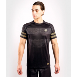 Club 182 Dry Tech Shirt-Black/Gold