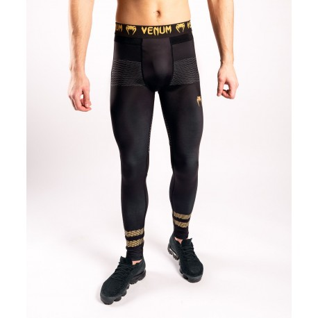 Club 182 Compression Tights-Black/Gold