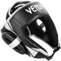 Challenger Open Face Headgear - Black/Ice
