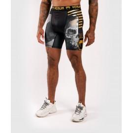 Skull Vale Tudo Shorts-Black
