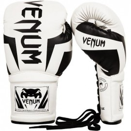 Elite Boxing Gloves with Laces