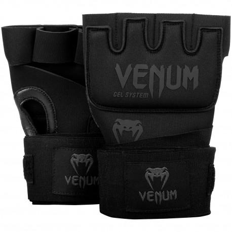 Kontact Gel Glove Wraps - Black/Black