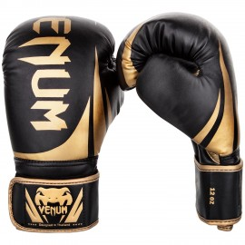 Challenger 2 0 Boxing Gloves - Black/Gold Challenger 2 0 Boxing Gloves -  Black/Gold