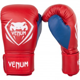 Contender Boxing Gloves - Red/Blue