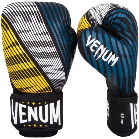 Plasma Boxing Gloves - Black/Yellow