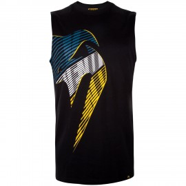 Giant X Plasma Tank Top - Black/Yellow